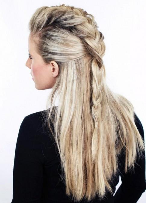 6 kiểu tóc hàn quốc đẹp sang trọng quyến rũ cho bạn gái dự tiệc 2017