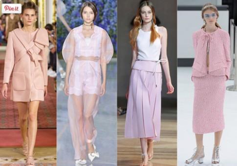 6 màu sắc mê hoặc các tín đồ thời trang mùa xuân này