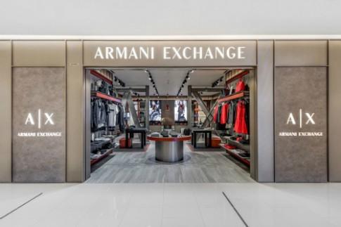 Armani Exchange ra mắt cửa hàng đầu tiên tại Saigon Centre TP HCM