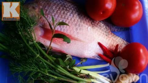 Cá rô phi sốt cà chua ngon cơm trong mọi thời tiết