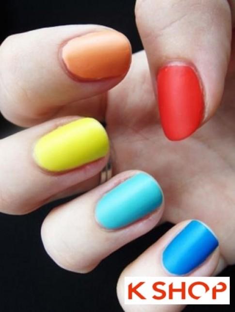 Cách sơn móng tay màu neon đẹp đơn giản tại nhà cho bạn gái 2017