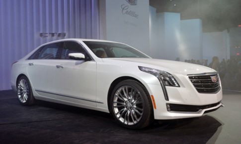 Cadillac CT6 2016 - đối thủ mới của BMW serie 7