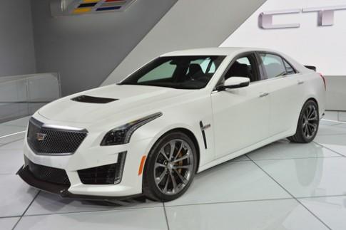 Cadillac CTS-V 2016 - sedan 640 mã lực ra mắt
