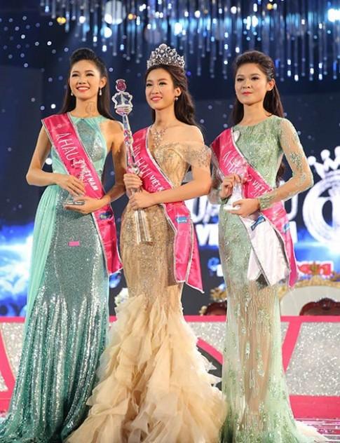 """Cận cảnh vẻ đẹp """"10 phân vẹn 10"""" của tân Hoa hậu VN 2016."""