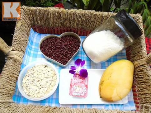 Chè đậu đỏ yến mạch mát bổ cho mùa hè