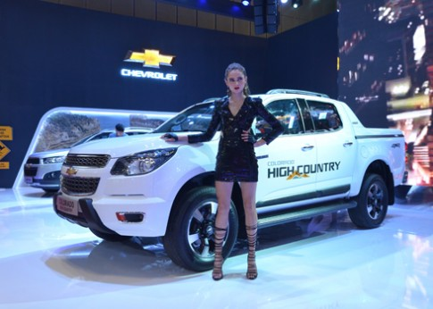 Chevrolet Colorado High Country ra mắt tại Việt Nam