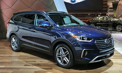 Chi tiết Hyundai Santa Fe 2017