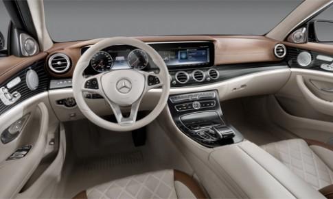 Chi tiết nội thất Mercedes E-class 2017