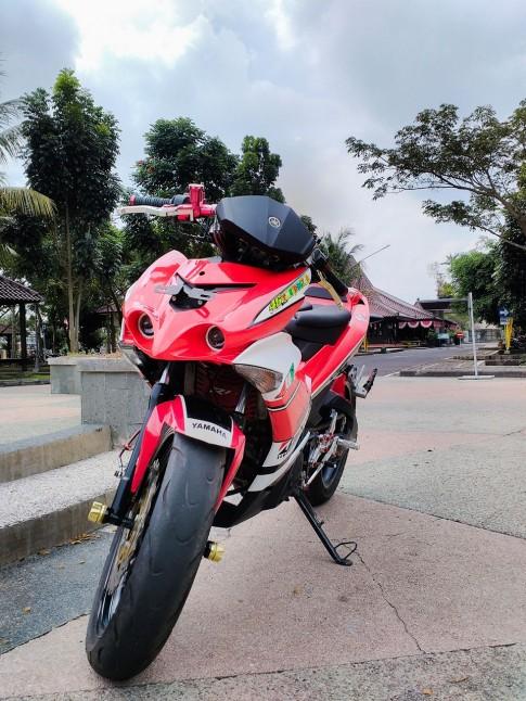 Chiếc Exciter 135 độ phá cách của biker Việt