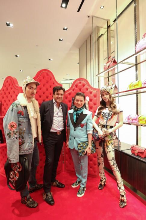 Dàn sao Việt khoe phong cách tại sự kiện GucciGhost