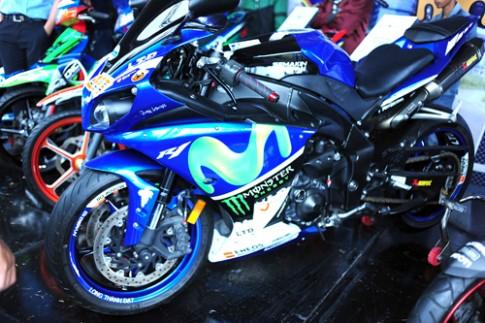 Dàn xe Yamaha hội tụ tại Đà Nẵng