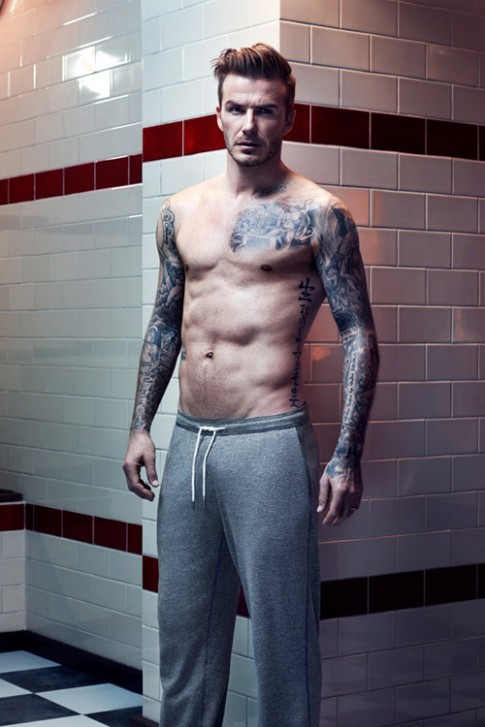 David Beckham khoe cơ bắp với đồ lót