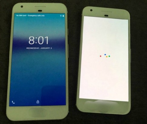 Điện thoại của Google giống iPhone 7