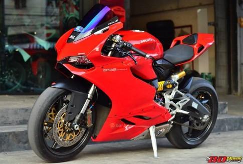 Ducati 899 Panigale cuc chat trong ban do sieu khung