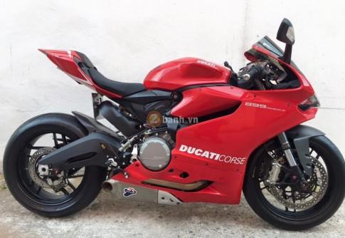 Ducati 899 Panigale trang bị một số option cực chất