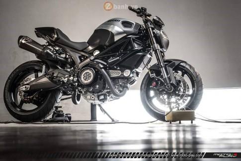 Ducati Monster 795 siêu ngầu với phiên bản The Dark Knight