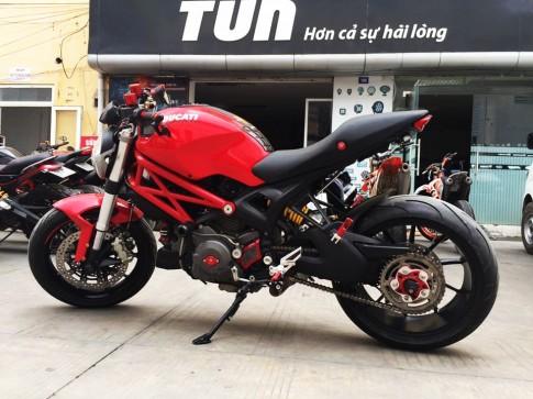 Ducati Monster 796 sang chảnh với một loạt option hàng hiệu của biker Việt