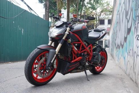 Ducati Streetfighter 848 siêu chất với dàn đồ chơi khủng tại Sài Gòn