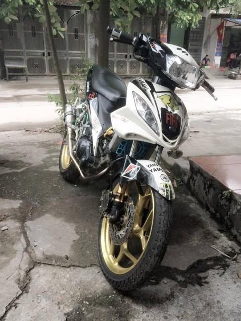 Exciter 135 4 số độ dàn chân Asio khủng của biker Thái Nguyên