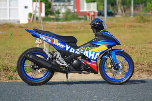 Exciter 150 đầy chất chơi trong bộ cánh đậm chất Yamaha Racing