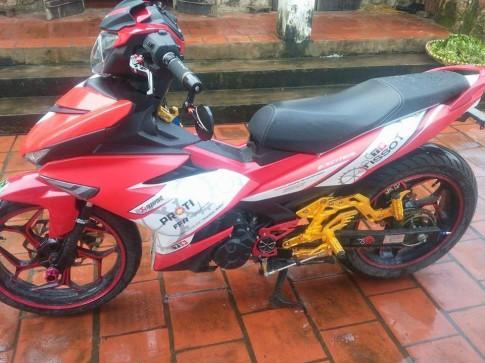 Exciter 150 độ đơn giản của biker Hưng Yên