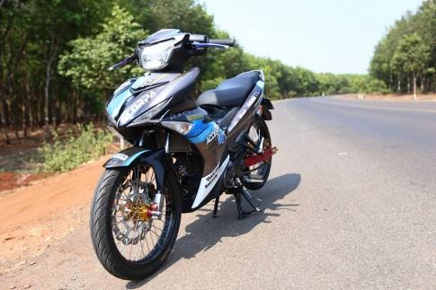 Exciter độ mạnh tay của 1 biker Đông Nam Bộ .