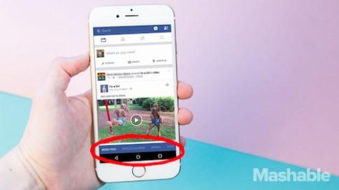Facebook sắp thay đổi giao diện di động lớn nhất lịch sử
