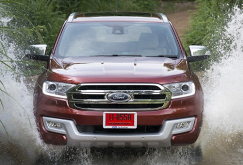 Ford Everest mới - lột xác toàn diện