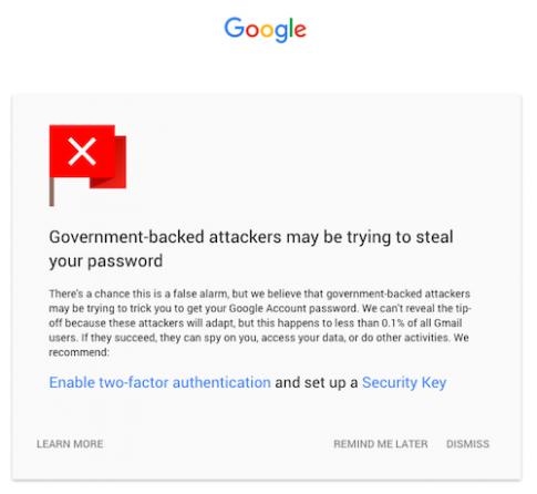 Google liên tục tăng cường bảo mật cho Gmail