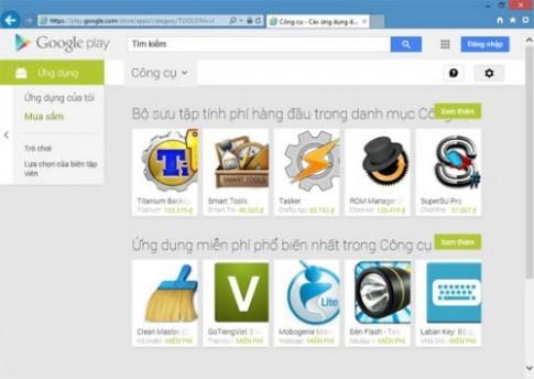 Google Play hỗ trợ thanh toán bằng tiền Việt