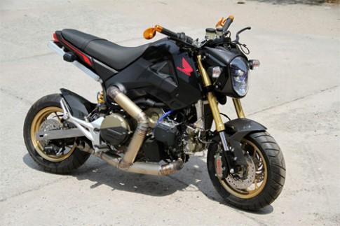 Honda MSX gắn động cơ Ducati 1199 Panigale