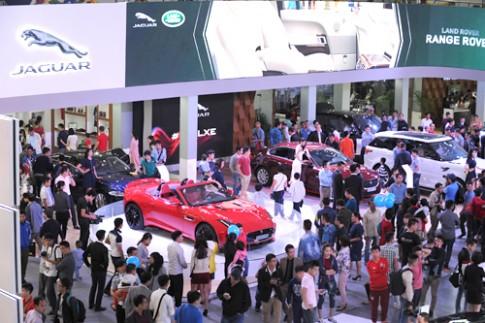 Jaguar - 'Siêu báo' ở triển lãm ôtô quốc tế Việt Nam