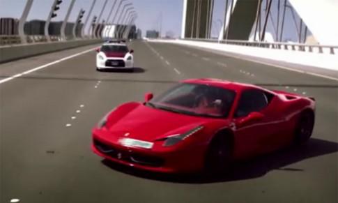 Khi cảnh sát Abu Dhabi truy đuổi siêu xe
