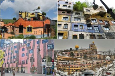 """Kiến trúc nhà ở có """"1-0-2"""" tại Áo"""
