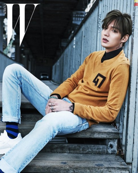 Kiểu tóc nam Hàn Quốc đẹp 2017 trẻ trung khiến chàng mê tít