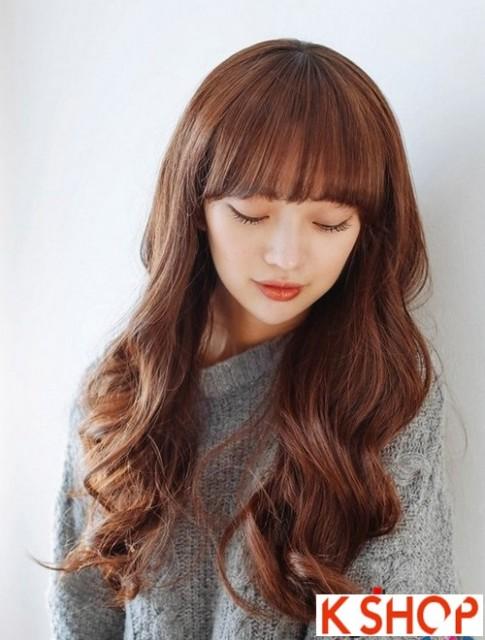 Kiểu tóc xoăn Hàn Quốc cực đẹp cho cô nàng xinh xắn quyến rũ hè 2017
