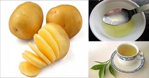 Kinh ngạc với cách nhuộm tóc vàng từ khoai tây cho bạn gái kị hóa chất