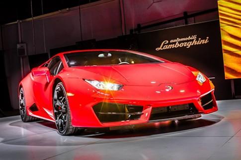Lamborghini Huracan bản một cầu sắp về Việt Nam
