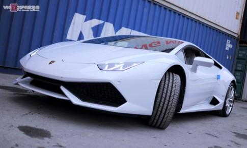 Lamborghini Huracan màu độc nhất về Việt Nam