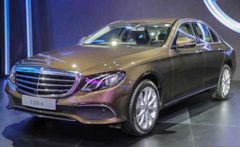 Mercedes E-class thế hệ mới giá 114.400 USD tại Thái Lan