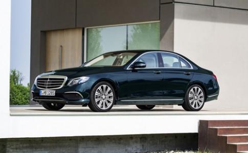 Mercedes E-class thế hệ mới giá từ 49.400 USD