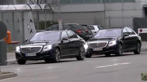 Mercedes S-class 2016 lộ diện trên đường thử