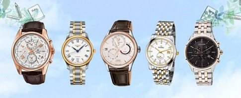 Mua đồng hồ chính hãng lãi suất 0% tại Cititime Mall