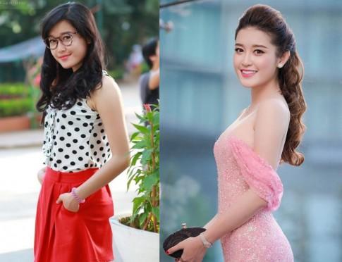 Ngắm mỹ nữ Việt ngày nay và khi còn là hot girl đình đám