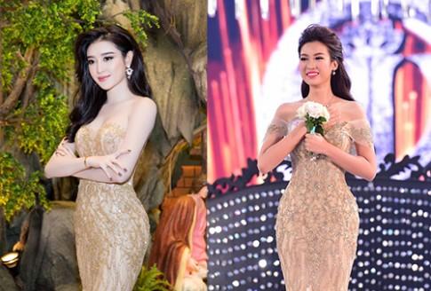 Nhà thiết kế khẳng định HH Đỗ Mỹ Linh không mặc lại váy của Huyền My