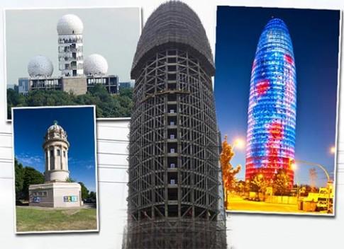 Những tòa nhà hình thù nhạy cảm nhất trái đất