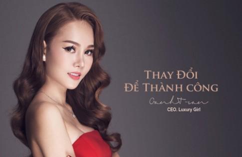 Nữ doanh nhân trẻ Trần Oanh: Đam mê và tâm huyết với cái đẹp.