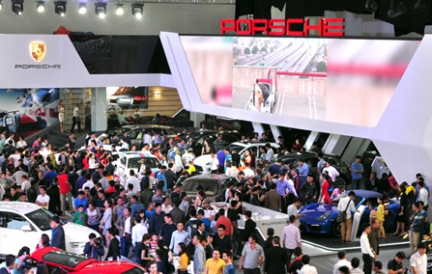 Porsche thắng lớn tại triển lãm xe nhập VIMS 2015