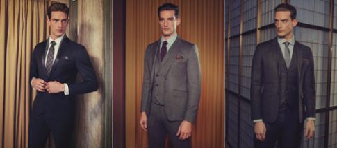 Quý ông lịch lãm với suit Ted Baker