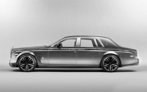 Rolls-Royce Abyss - xe siêu sang dát vàng bạc